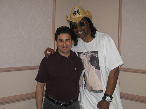 dj Danny with Bootsie Collins