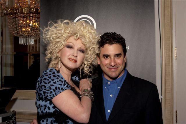 dj Danny with Cyndi Laupe