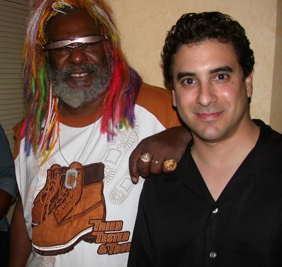 dj Danny with George Clinton